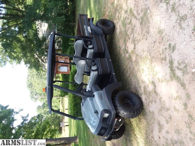 Armslist For Sale 4x4 Intellitrack Club Car 1700 Carry All 4 Seater