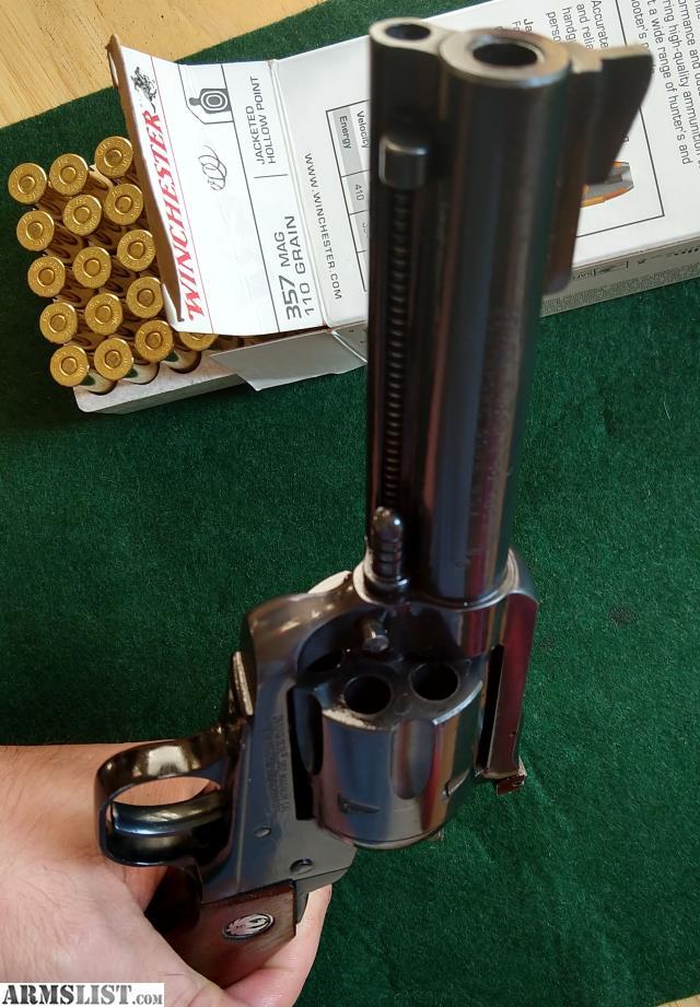 ARMSLIST - For Sale/Trade: Ruger New Model Blackhawk 357 38