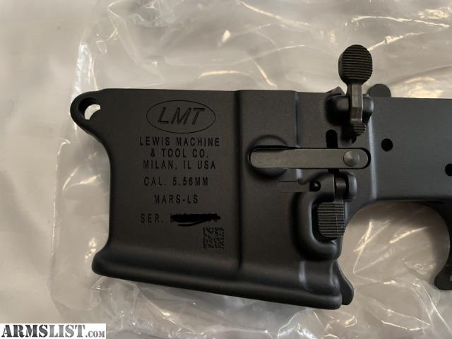 ARMSLIST - For Sale: LMT MARS Lower Receiver
