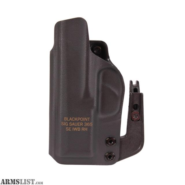 HOL-365-APX-RH Sig Sauer Blackpoint Tactical P365 Appendix Carry Holster Right