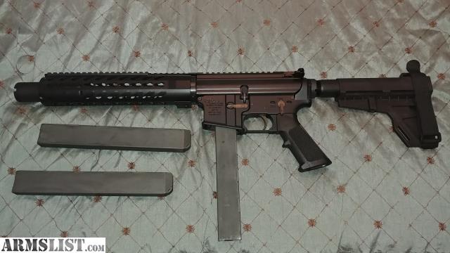 ARMSLIST - For Sale/Trade: AR-45/AR-15 45 ACP Pistol w/Brace