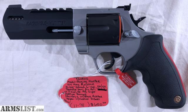 ARMSLIST - For Sale: Taurus Raging Hunter 44mag