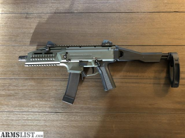 ARMSLIST - For Sale/Trade: Cz Scorpion, upgrades, extra mags