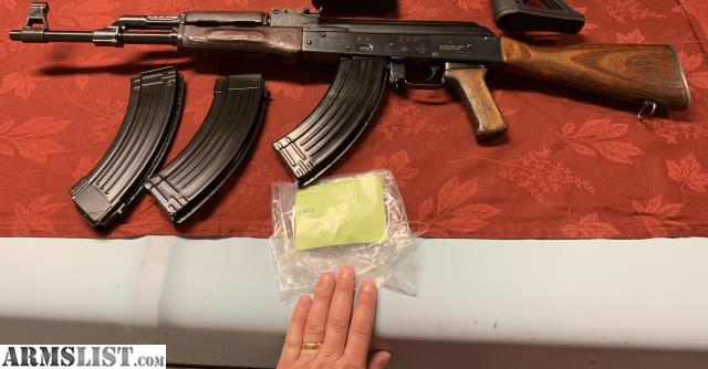 ARMSLIST - For Sale: MAK-90 AK type