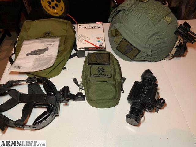 Armslist For Sale Tactical Night Vision Helmet Setup