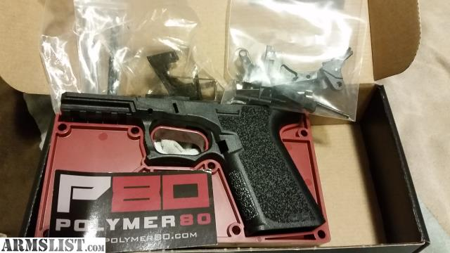 ARMSLIST - For Sale/Trade: P80 Glock 19 80% frame with competition