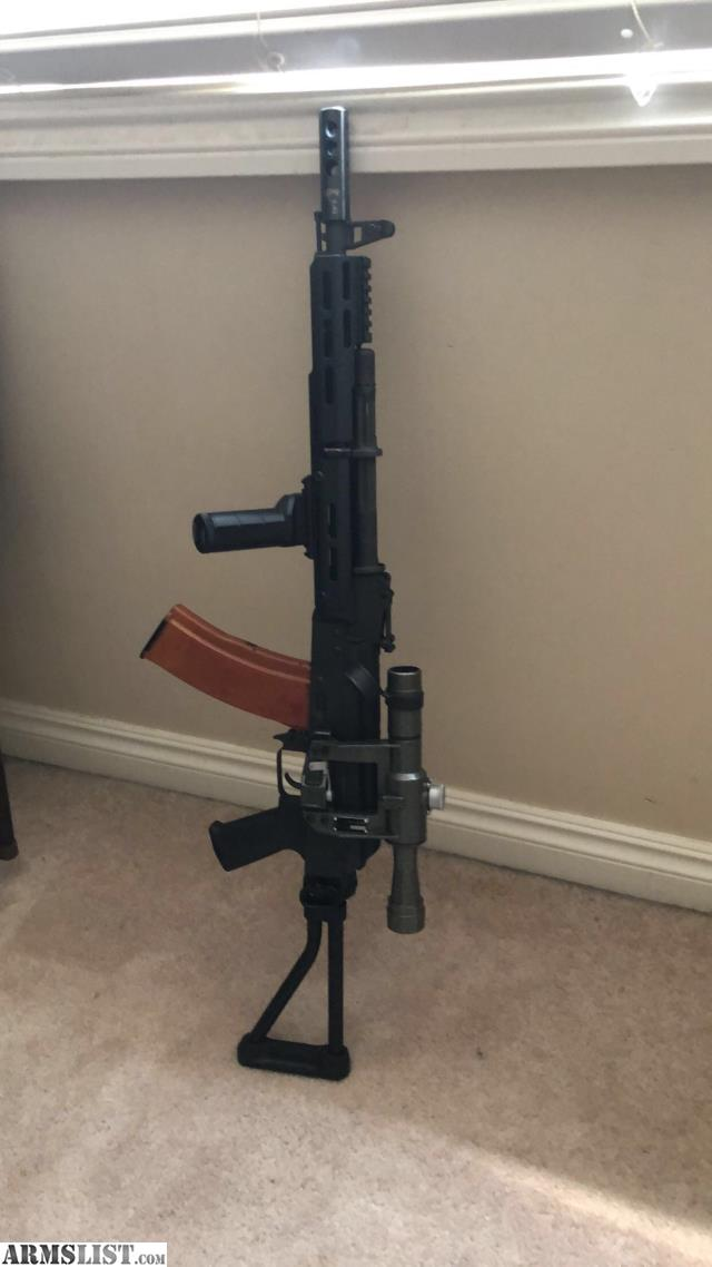 ARMSLIST - For Sale: Bulgarian Ak 74 with extras