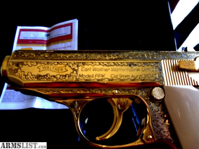 ARMSLIST - For Sale: Walther Carl Limited Edition 24K Gold