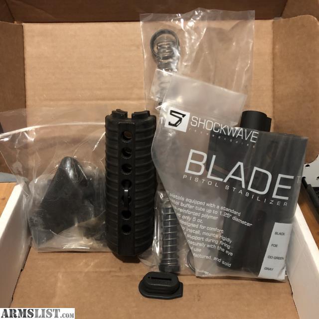 ARMSLIST - For Sale/Trade: SHOCKWAVE 2 0 LOWER PARTS KIT NIB BLACK Set 1