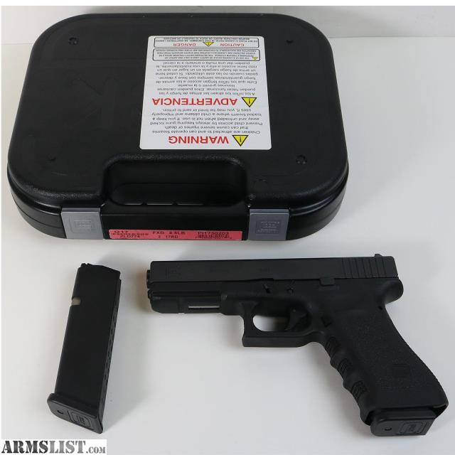 ARMSLIST - For Sale: Glock 17 Gen 3 9mm Semi Automatic Pistol With 2