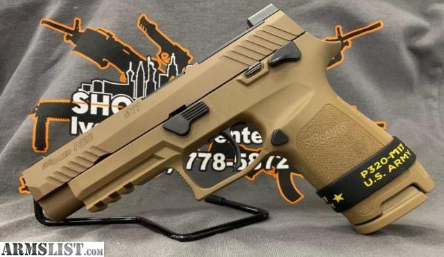 ARMSLIST - For Sale: Sig Sauer P320 M17