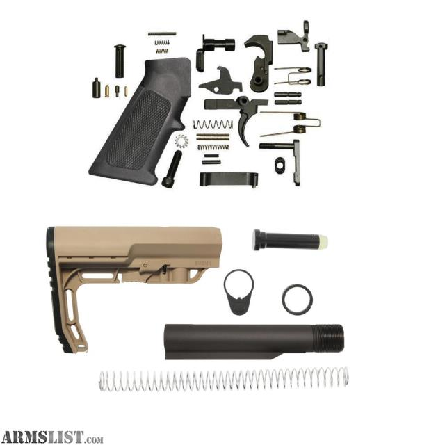 ARMSLIST - For Sale: AR 15 Lower Build kit