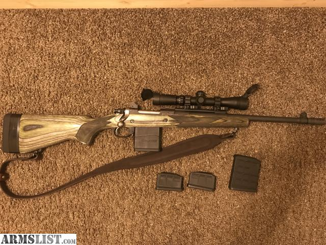 ARMSLIST - For Sale/Trade: Ruger Gunsite Scout  308 with