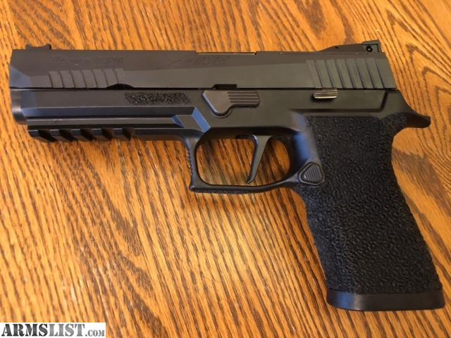 ARMSLIST - For Sale: Sig P320 X5 Full size - Stippled w/ extras