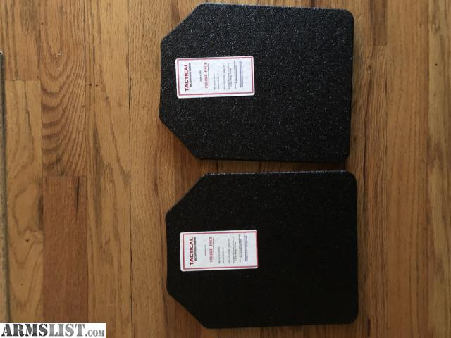 ARMSLIST - For Sale: 3A Shooters Cut Ballistic Armor Plates
