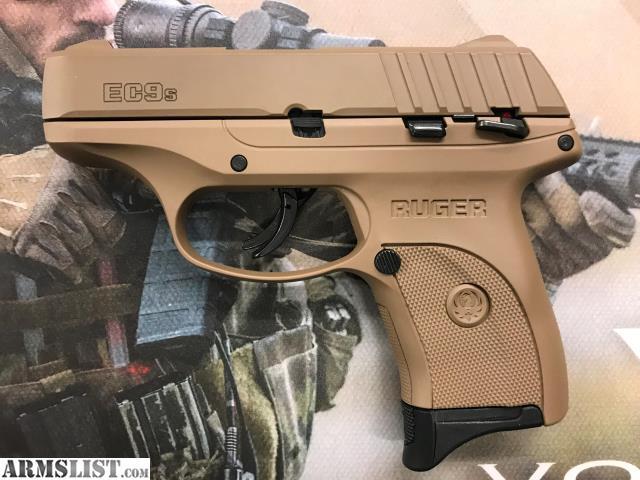 ARMSLIST - For Sale: Ruger EC9S 9mm