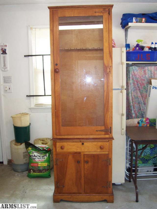 Armslist For Sale Wooden Gun Cabinet