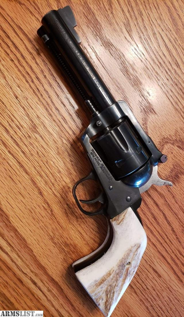 ARMSLIST - For Trade: Ruger blackhawk 41 magnum with stag grips