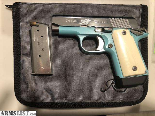 ARMSLIST - For Sale/Trade: Kimber Micro 9 Bel Air Special
