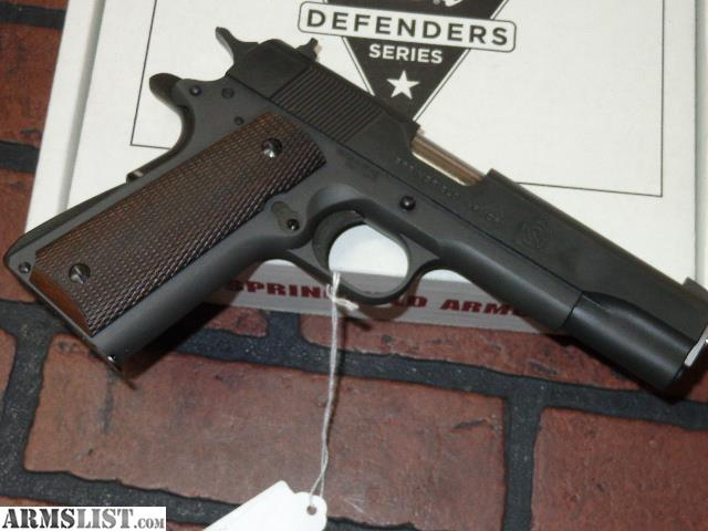 ARMSLIST - For Sale: NEW - Springfield Armory 1911 Mil Spec