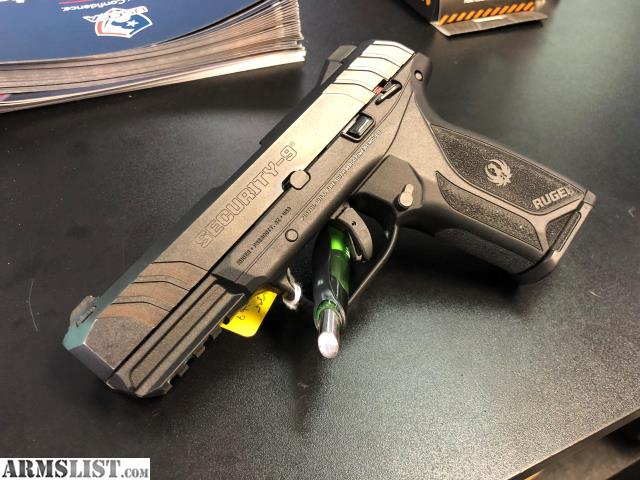 ARMSLIST - For Sale: Used Ruger Security-9 Black 9mm 4-inch