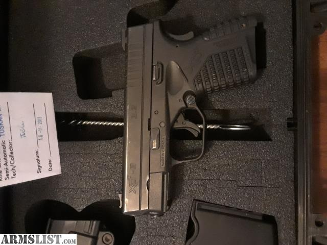 ARMSLIST - For Sale/Trade: Springfield xds 9mm essentials