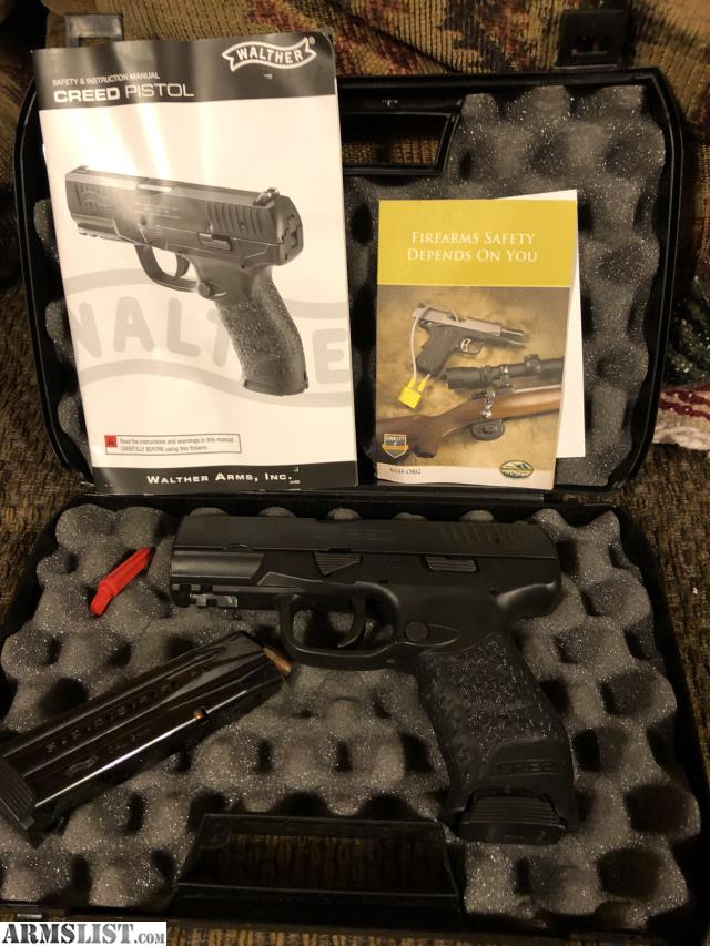 ARMSLIST - For Trade: **SOLD PPU**Walther Creed 9 mm with 2
