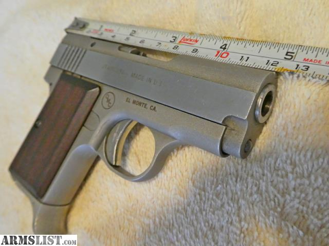 ARMSLIST - For Sale:  380 Stainless pocket pistol