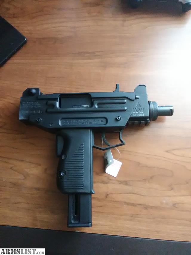 ARMSLIST - For Sale/Trade: IWI UZI Pistol 22LR