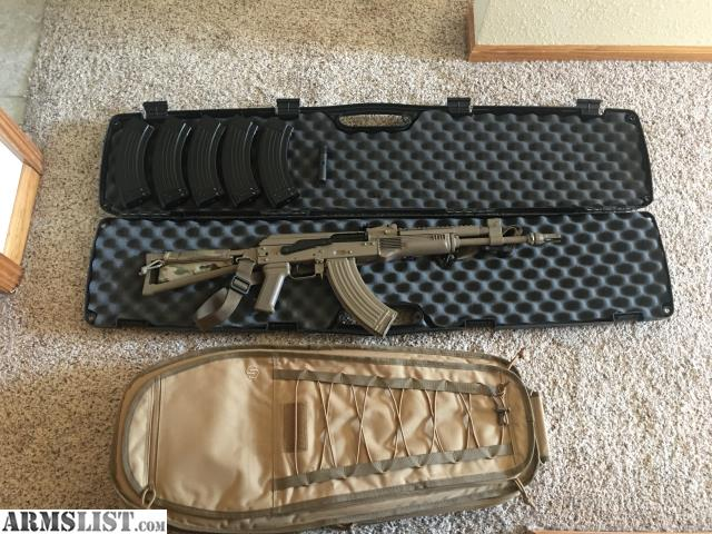 ARMSLIST - For Sale: Custom AK with accessories