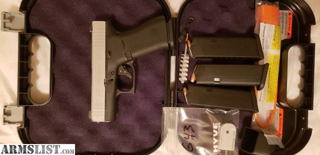 ARMSLIST - For Sale/Trade: Glock 43x with upgrades  Trade