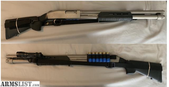 "ARMSLIST - For Sale: Mossberg 590 Mariner  Hogue 12"" Stock"