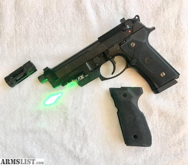 ARMSLIST - For Sale: Beretta 92 M9A3 decocker only laser