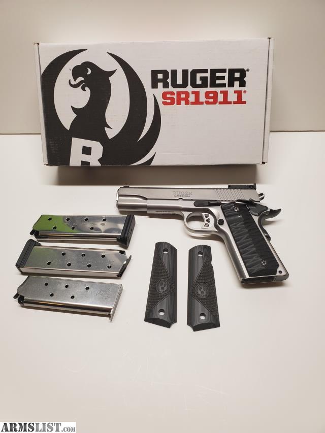 ARMSLIST - For Sale: Brand New Ruger SR1911 Target