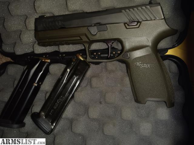 ARMSLIST - For Sale/Trade: X-SERIES SIG SAUER P320 9MM FULL