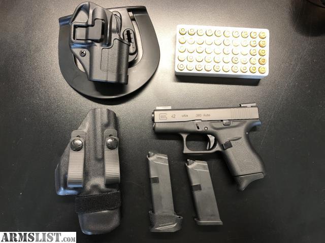 ARMSLIST - For Sale/Trade: Glock 42 plus extras plus cash