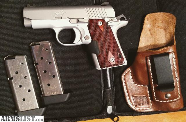 ARMSLIST - For Sale: Kimber Micro 9 Crimson Carry and Holster