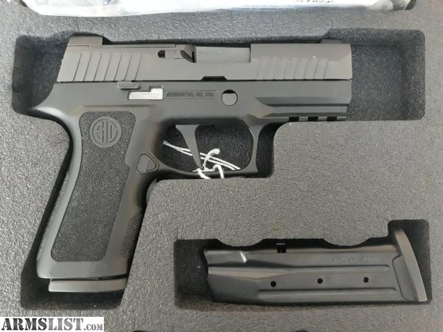 ARMSLIST - For Sale/Trade: USED/UNFIRED Sig Sauer, P320, X