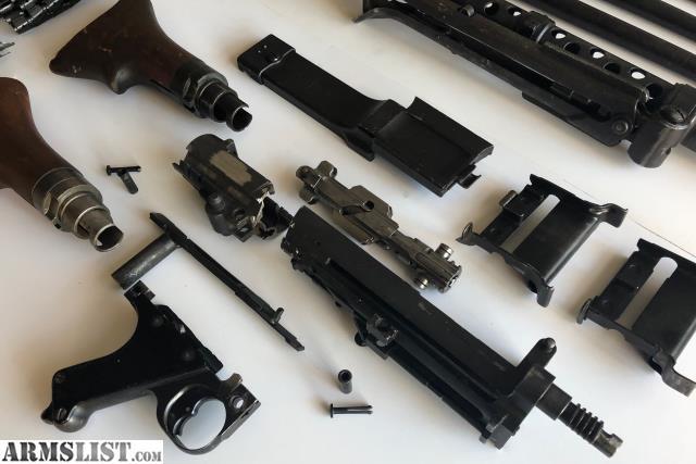 ARMSLIST - For Sale: Original Nazi Germany MG 34 parts kit