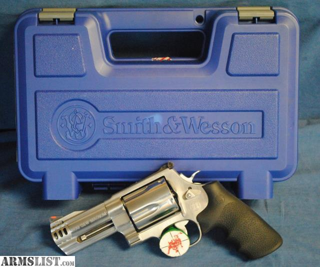 For Sale: Smith & Wesson 500, 500S&W Mag., 4