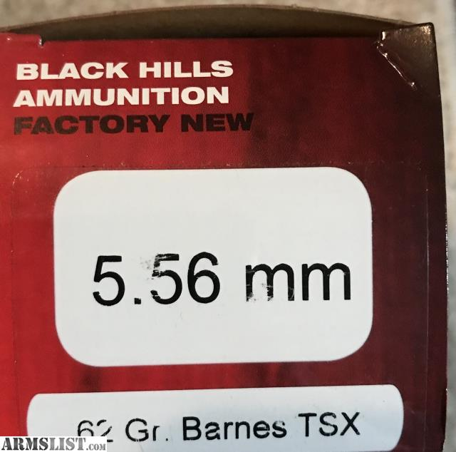 ARMSLIST - For Sale: 5.56 ammo