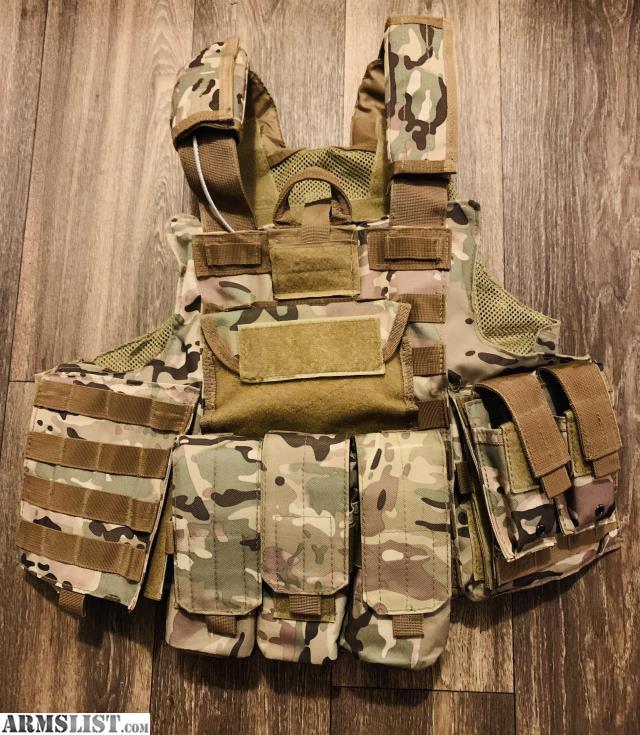 Armslist For Sale Plate Carrier With Ar500 Body Armor