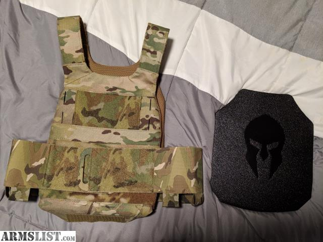 Armslist For Sale Ferro Slickster Plate Carrier With Body Armor