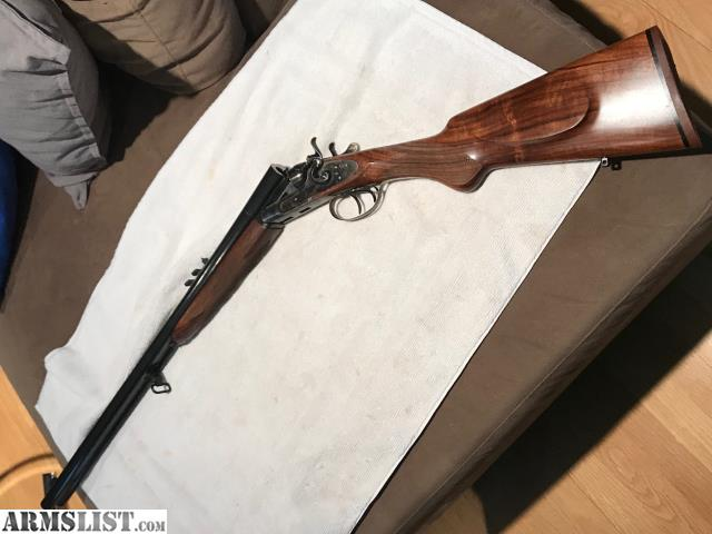 ARMSLIST - For Sale: Pedersoli Double Rifle Beautiful ...