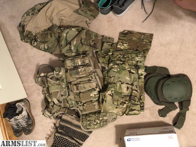 Armslist For Sale New Multi Cam Plate Carrier Setup W Plates Cheap