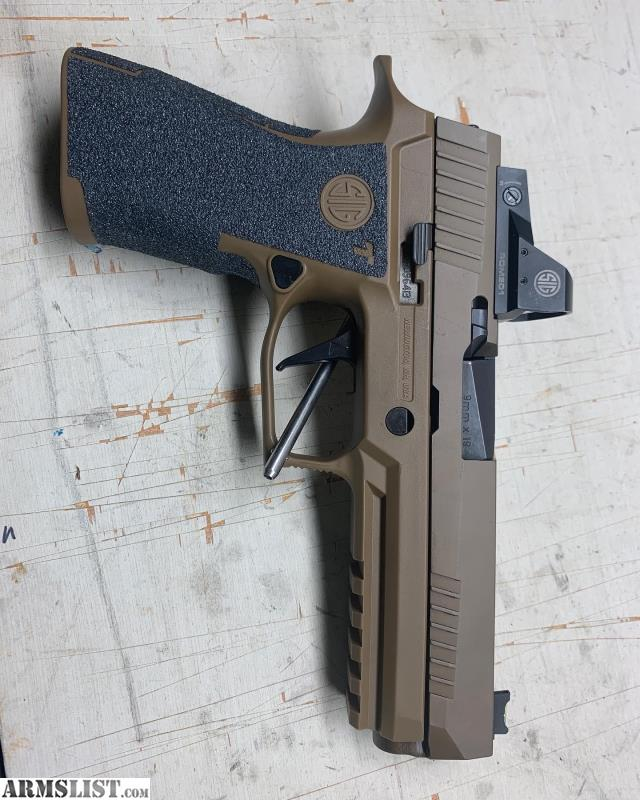 ARMSLIST For Sale SIG P320 X5 W SIG Romeo 1