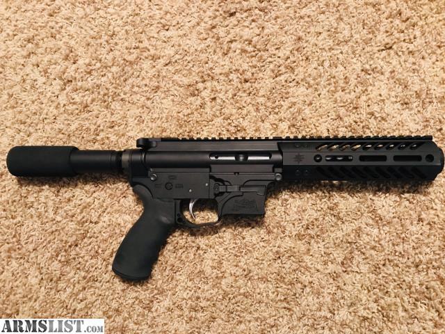 ARMSLIST - For Sale/Trade: Custom AR-9 9mm Pistol