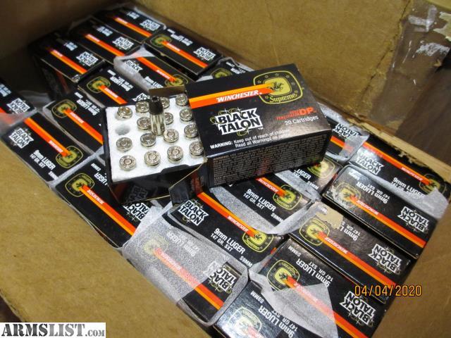 Armslist For Sale Original Black Talon 44 Mag Case Of