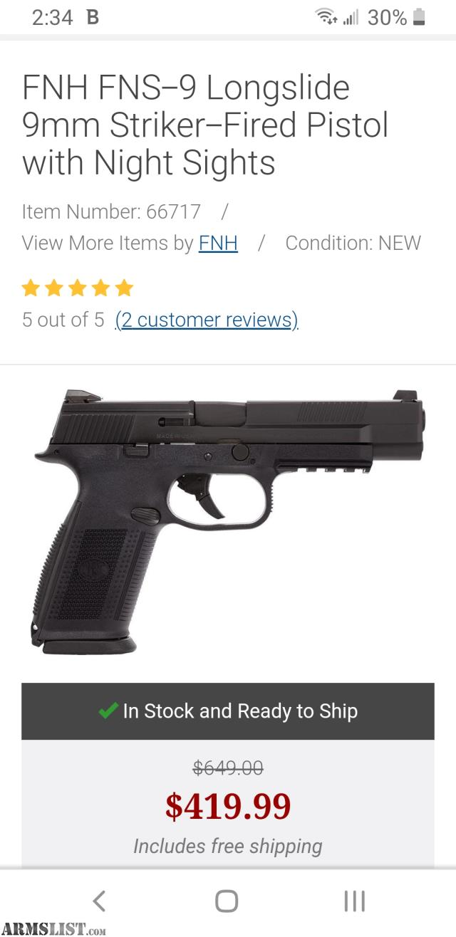 Armslist Want To Buy Wtb 9mm Fns9 509 Hk Vp9 Walther Ppq Sa Xd M Etc