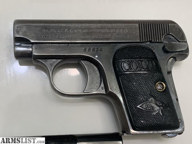 Any Baby Browning/Colt M1908 Owners Here?